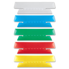 Esselte Soft Flexible Colored Tabs