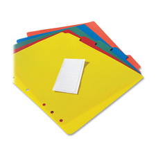 Avery Plastic Tab Dividers w/Labels