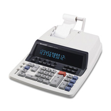 Sharp 12-Dgt Commercial Print/Display Calculators