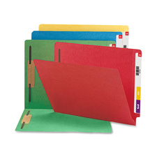 Smead 2-Ply Colored Folders w/ Fasteners