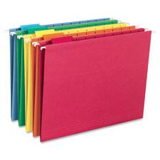 Smead 1/5 Cut Colored Hanging Folders