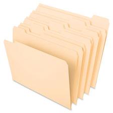 Esselte 1/5 Cut Recycled File Folders