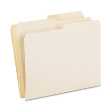 Esselte 1/2 Cut Recycled File Folders