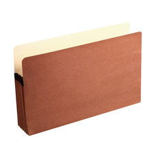 Acco/Wilson Jones Recycled Red Rope File Pockets