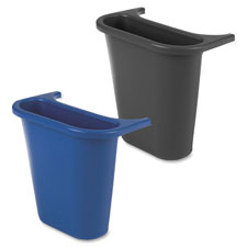 "Recycling bin, saddle basket, 7-1/4""x10-5/8""x11-5/8"", blue, sold as 1 each"