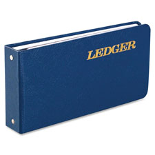 "Ring binder ledger,a-z tab index,100-pg,5-1/2""x8-1/2"",be cvr, sold as 1 each"
