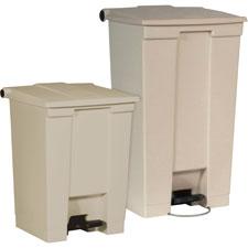 Rubbermaid Step-On Wastebaskets