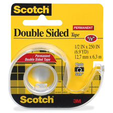 3M Scotch Double-Sided Tape w/Dispensers