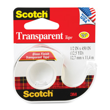 3M Scotch Transparent Tape Refillable Dispensesrs