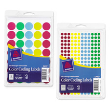 Avery See Through Color Dots