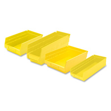 Akro-Mils Grease/Oil Resistant Shelf Bins