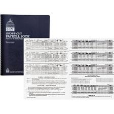 Dome Publishing Short-Cut Payroll Book