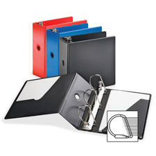 Cardinal Slant-D Vinyl Locking Ring Binders
