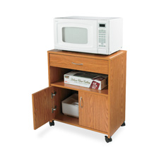 Lorell Microwave Oven Cart