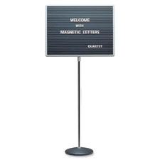 Quartet Adjustable Standing Mag. Letterboards