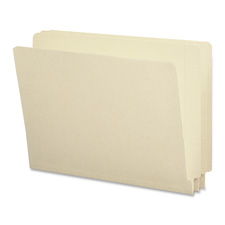 Smead Straight Cut 2-Ply End Tab Legal Folders