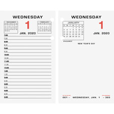 At-A-Glance Loose Leaf Desk Calendar Refill