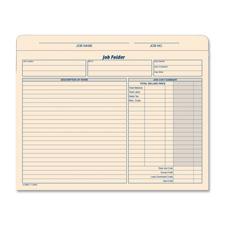 Tops Job Folder File Jacket