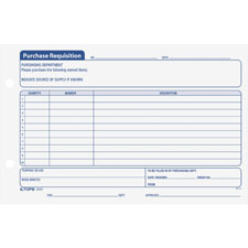 Tops Purchase Requisitions Forms