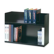 MMF Industries Two-Tier Book Rack
