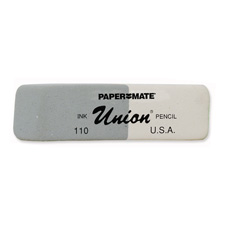 Paper Mate Union Ink and Pencil Eraser