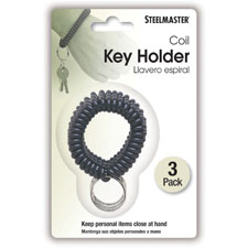 MMF Industries Wrist Coil Key Rings