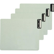 Smead Vert Blank End Tab Pressboard Guides