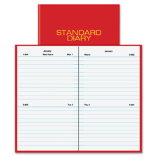At-A-Glance Standard Diary Recycled Daily Reminder