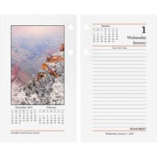At-A-Glance Photographic Desk Calendar Refill