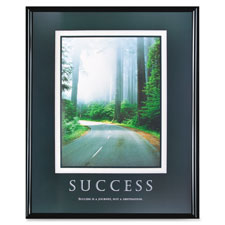 """Success poster, 24""""x30"""", black frame, sold as 1 each"""