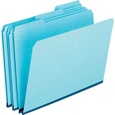 Esselte 1/3 Cut Recycled Pressboard Tab Folders