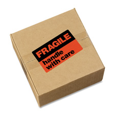Avery Fragile Handle With Care Shipping Labels
