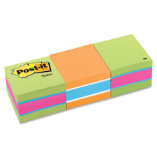 3M Post-it Mini Bright Colors Memo Cubes