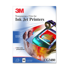 3M Paper Backed Inkjet Transparency Film
