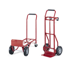 Safco Convertible Industrial Hand/Platform Trucks