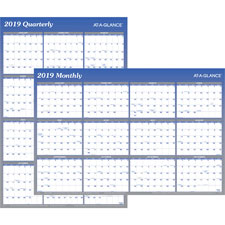 At-A-Glance Reversible Monthly/Quarterly Organizer