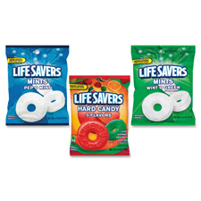 Marjack Assorted Life Savers Candy