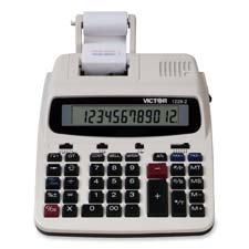 Victor 12-Digit LCD Full Print/Display Calculator