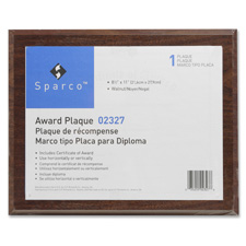 Sparco Traditional Plaques