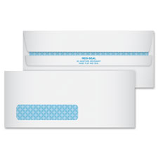 Quality Park Redi-Seal Security Window Envelopes