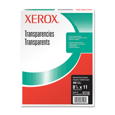 Xerox Removable Stripe Transparencies