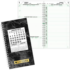 Day-Timer 2-Page-Pe-Day Pocket Calendar Pages