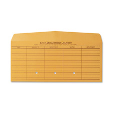 "Inter-department envelope, no closure, 5""x11-1/2"", kraft, sold as 1 box, 100 each per box"