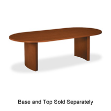 Basyx Oval Conference Tabletops and Bases
