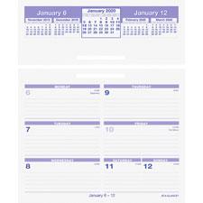 At-A-Glance Flip-A-Week Desk Calendar Refills