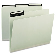 Smead 1/3 Cut Pressboard Metal Tab File Guide