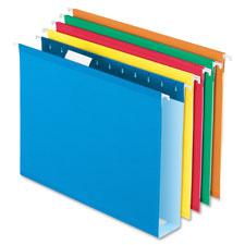 Esselte Colored Box Bottom Hanging Folders