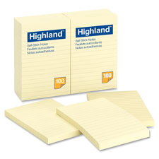 3M Lined Highland Notes