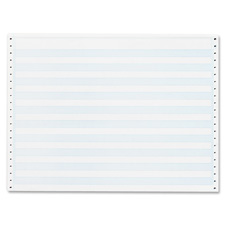 Sparco 1/2' Blue Bar Computer Paper