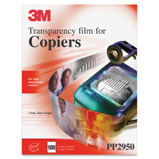 3M High Temperature Transparency Film f/Copiers